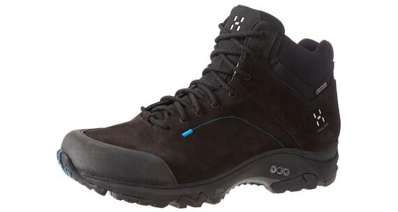 Haglöfs Ridge Mid GT Shoes Men True Black/Gale Blue